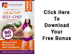The Healthy Chef eBook 90 Day Meal Plan Kim Shackleford